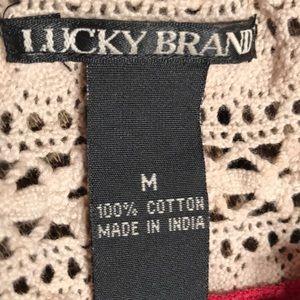 Lucky Brand Tops - Lucky Brand summer top